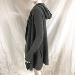 A Pea in the Pod Sweaters - A PEA IN THE POD Cashmere Hooded Cardigan Sweater